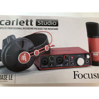 scarlet studio focusrite(オーディオインターフェイス)
