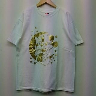 ディズニー(Disney)のVINTAGE ミッキーマウス ミニー ディズニー USA製 Tシャツ L(Tシャツ/カットソー(半袖/袖なし))
