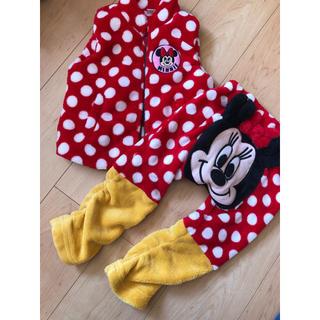 ディズニー(Disney)のミニーフリースベストセット(ジャケット/上着)
