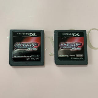 ゲームボーイアドバンス(ゲームボーイアドバンス)のDS ポケットモンスター パール(携帯用ゲームソフト)