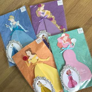 ディズニー(Disney)のディズニープリンセス ハニカムカード(カード/レター/ラッピング)