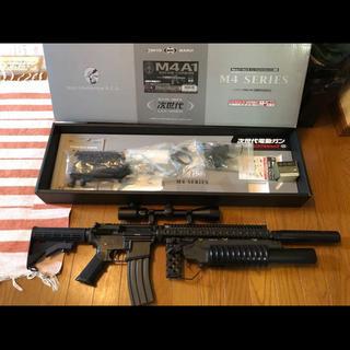 マルイ(マルイ)のマルイ 次世代  M4A1 外装カスタム(電動ガン)