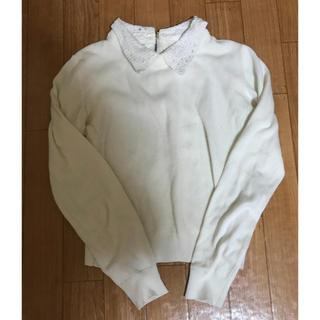 グラスライン(Glass Line)のグラスライン  襟付き春ニット(ニット/セーター)
