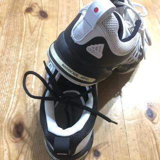 アディダス(adidas)のアディダス テニスシューズ 26.0cm デビィスカップ日本代表モデルused (シューズ)