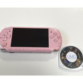 プレイステーションポータブル(PlayStation Portable)のPSP「プレイステーション・ポータブル」 ブロッサム・ピンク (PSP-3000(携帯用ゲーム本体)