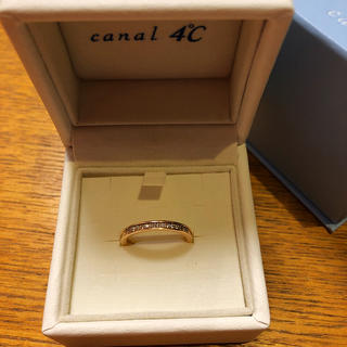 カナルヨンドシー(canal4℃)のcanal4℃ ♡K10PGダイヤモンドエタニティーリング!!(リング(指輪))