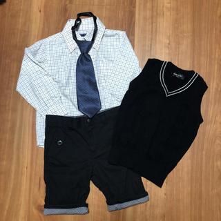 8ecdbbd845214 コムサイズム(COMME CA ISM)の男の子 フォーマルセットサイズ100 コムサ他(ドレス
