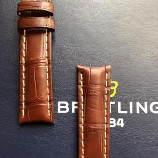 ブライトリング(BREITLING)のブライトリング プレミエ オートマチック デイ&デイト 40 純正革ベルト(レザーベルト)