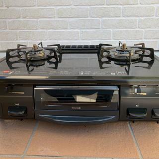 リンナイ(Rinnai)の都市ガス用 SIセンサ付き ガスコンロ(調理機器)