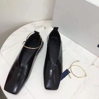 ジルサンダー(Jil Sander)のJIL SANDER ジルサンダー フラットパンプス バレエシューズ(ローファー/革靴)