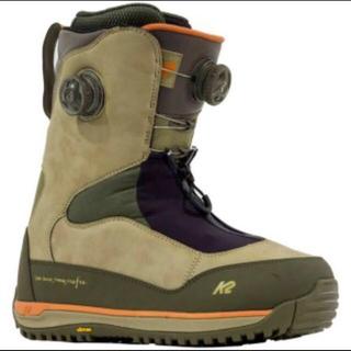 バートン(BURTON)の2017 K2 TARO TAMAI ブーツ GENTEMSTICK  美品(ブーツ)