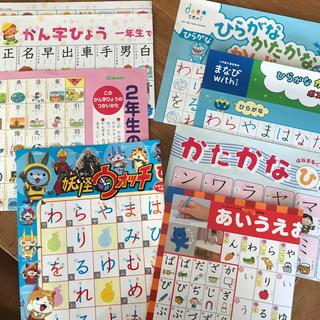 学研 - 学習ポスター 1年生、2年生