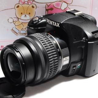 ペンタックス(PENTAX)の★軽量小型ボディ★PENTAX k-mレンズセット♪★(デジタル一眼)