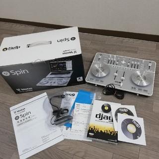 vestax spin dj 中古綺麗通電OK!(DJコントローラー)