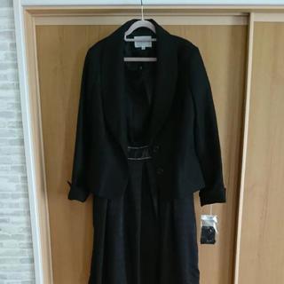 シマムラ(しまむら)の新品 1度着用 しまむら ワンピーススーツ Lサイズ(スーツ)