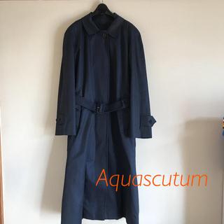 アクアスキュータム(AQUA SCUTUM)のAquascutum 美品 スプリングコート ライナー付き(スプリングコート)