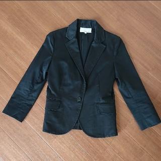 エムプルミエ(M-premier)の着画あり エムプルミエ サイズ36 Mサイズの方も。お仕事や PTA等にも(テーラードジャケット)