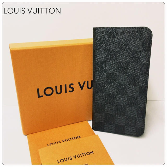 LOUIS VUITTON - 【新品】LOUIS VUITTON ダミエ グラフィット iPhone8プラスの通販 by My Collection's shop|ルイヴィトンならラクマ