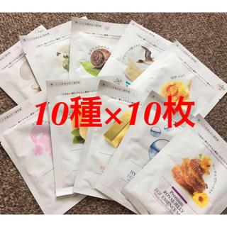 イッツスキン(It's skin)の★ダーマル フェイスマスク 10枚 10種 Let's skin 韓国 新品(パック / フェイスマスク)