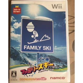 ウィー(Wii)のWii  ファミリースキー(家庭用ゲームソフト)