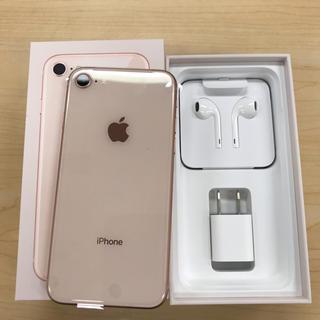 アップル(Apple)のiPhone 8  64GB simロック解除済み(スマートフォン本体)