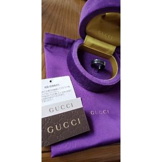 グッチ(Gucci)のGUCCI★大人気(アイコン)シンバンドホワイトゴールド(リング(指輪))