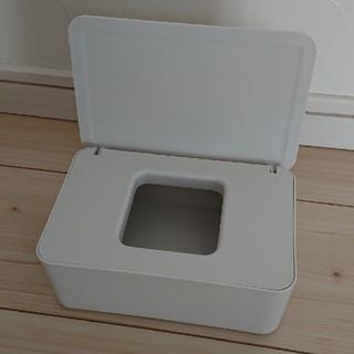 ムジルシリョウヒン(MUJI (無印良品))の無印良品 ウエットティッシュケース マスクケース ナチュラル(ティッシュボックス)