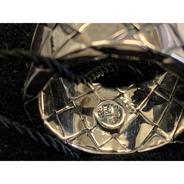 Bottega Veneta(ボッテガヴェネタ)のBOTTEGA VENETA ボッテガヴェネタ イントレチャート 指輪リング メンズのアクセサリー(リング(指輪))の商品写真