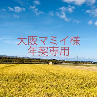 【大阪マミイ様 年契専用】平成30年度コシ中25×3、ひとめ精米25×15(米/穀物)