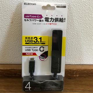 エレコム(ELECOM)のELECOM USBハブ(USB type-C)(PC周辺機器)