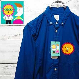 グラニフ(Design Tshirts Store graniph)の【未使用タグ付】 グラニフ 太陽 シャツ 胸刺繍 N11(シャツ)