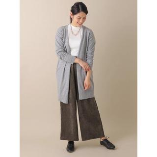 グリーンパークス(green parks)の新品 chocol raffine robe コーデュロイワイドパンツボルド(その他)