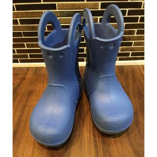 クロックス(crocs)のクロックス レインブーツC7   15㎝(長靴/レインシューズ)