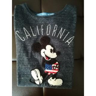 Disney - ミッキー ロングTシャツ 130センチ