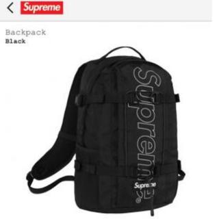supreme backpack 18fw