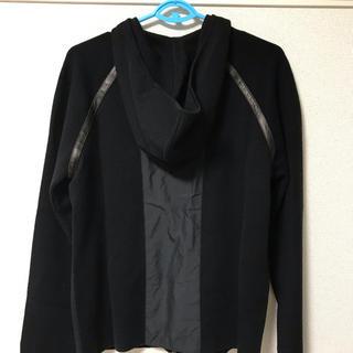 エンポリオアルマーニ(Emporio Armani)のEMPORIO ARMANI エンポリオ アルマーニ ジャケット(フード付き)(レザージャケット)