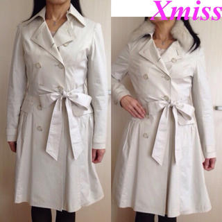 キスミス(Xmiss)のXmiss♡ブルーフォックスファー&インナー付きトレンチコート(トレンチコート)