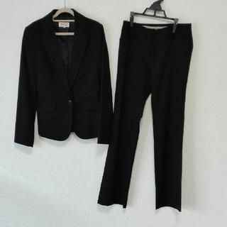 クリアインプレッション(CLEAR IMPRESSION)の☆サイズご注意ください☆ ルアコンシャス 黒 パンツスーツ (スーツ)