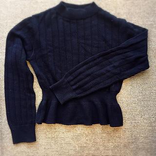 ロイスクレヨン(Lois CRAYON)のロイスクレヨン ネイビーのセーター(ニット/セーター)
