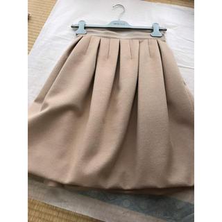 エムプルミエ(M-premier)のエムプルミエ♡ベージュスカート(ひざ丈スカート)