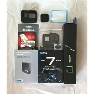ゴープロ(GoPro)の新品便利なセットGoPro HERO7 BLACK(ビデオカメラ)