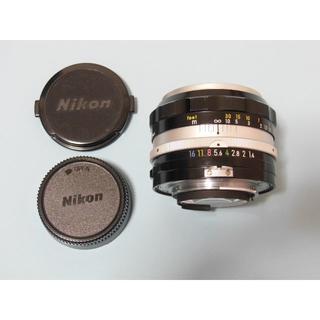 ニコン(Nikon)のニコン Auto NIKKOR-S 50mm F1.4(レンズ(単焦点))