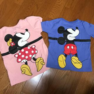 ディズニー(Disney)のミッキーミニーのお揃いティーシャツ⭐️(Tシャツ/カットソー)