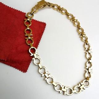 サルヴァトーレフェラガモ(Salvatore Ferragamo)の本物 フェラガモ ガンチーニ ネックレス ブレスレット ゴールド (ネックレス)