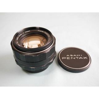 ペンタックス(PENTAX)のペンタックス スーパータクマー50mm F1.4(M42 )(レンズ(単焦点))