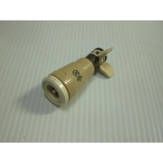 ●ハーマン 機器用ソケット(ゴム管用タイプ)カチット JG400CR●1-645(ガスレンジ)