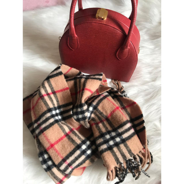 BURBERRY(バーバリー)の美品 Burberry スカーフ ストール レディースのファッション小物(ストール/パシュミナ)の商品写真