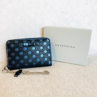 アンテプリマ(ANTEPRIMA)のアンテプリマ スプマンテ コインケース 青(コインケース)