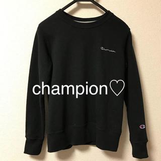シマムラ(しまむら)のchampion チャンピオン ロゴ 刺繍 ワンポイント スウェット(トレーナー/スウェット)