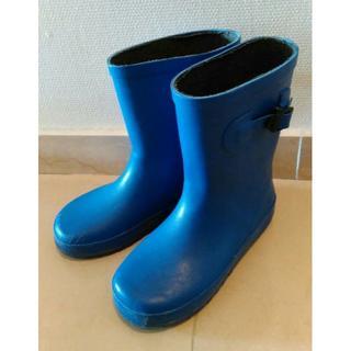 子供用★kids up tempo KUT★長靴 レインシューズ 20cm 青(長靴/レインシューズ)